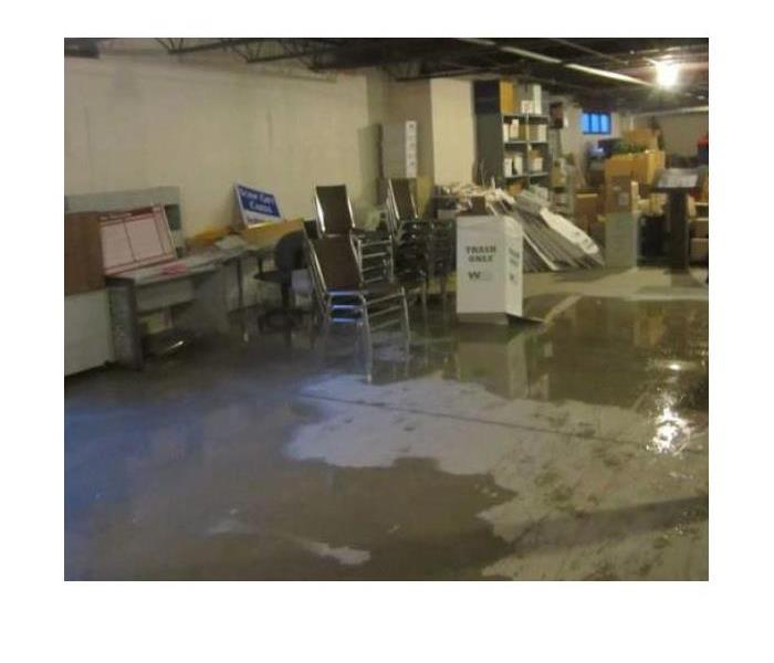 Water In Commercial Storage